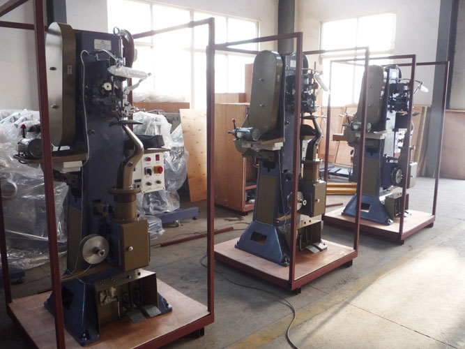 Three Sets Master Insole Stitching Machine Ship to Jakarta of Indonesia